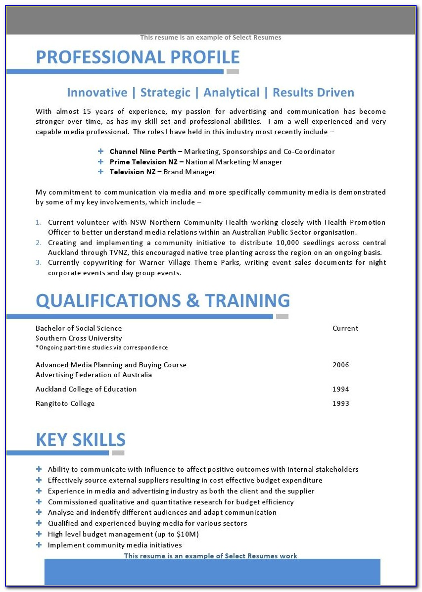 Free Printable Job Resume Templates
