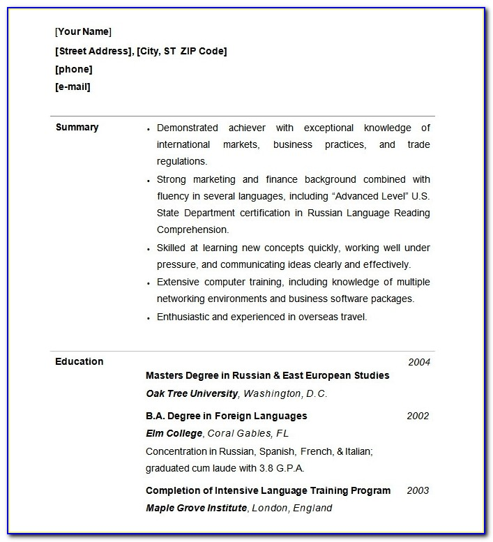 Functional Resume Template – 15+ Free Samples, Examples, Format With Regard To Resume Builder Free Download 2017