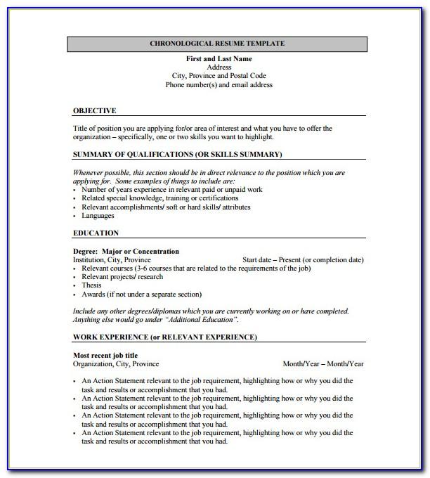 Free Resume Templates Pdf Download