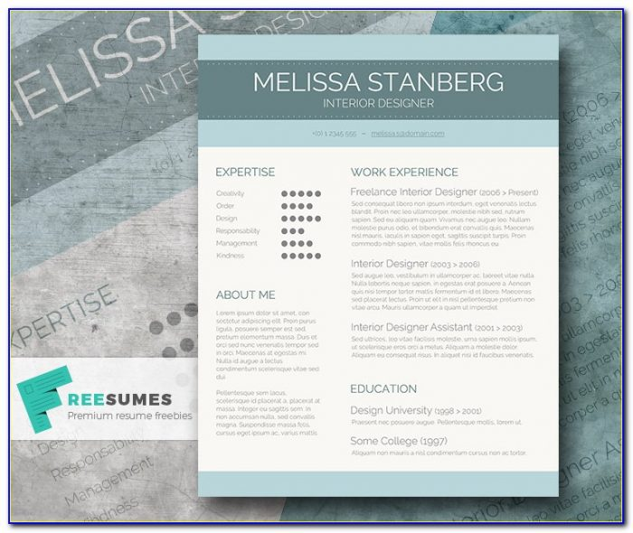 Free Stylish Resume Templates Download