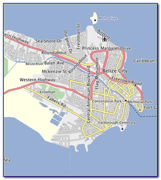 Garmin Belize Map