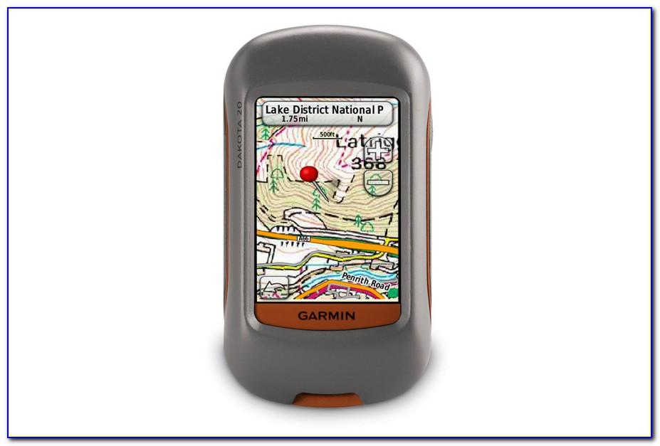 Garmin Dakota 20 Loading Maps