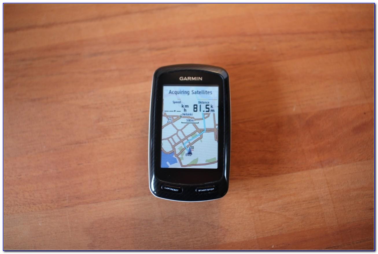 Garmin Edge 800 Map