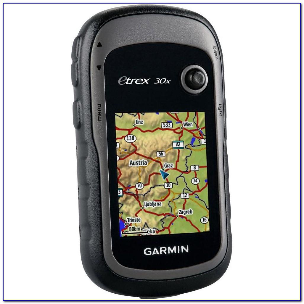 Garmin Etrex 30x Install Maps