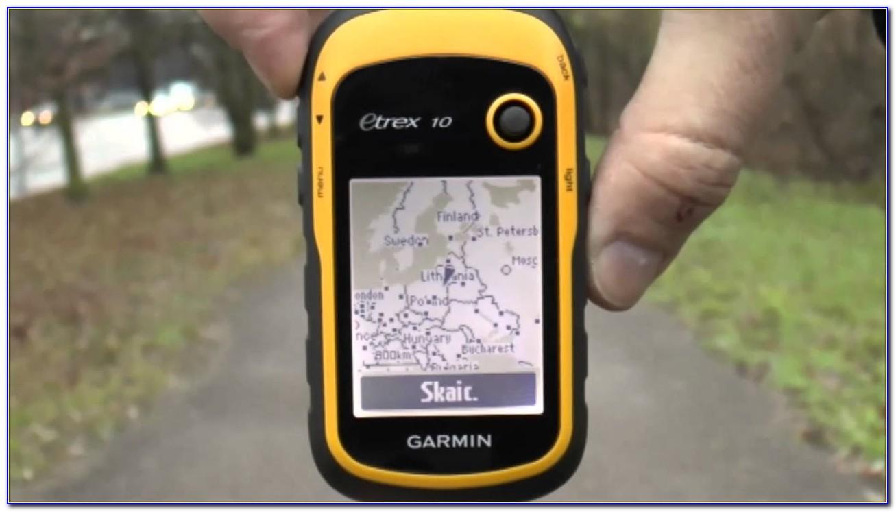 Garmin Etrex Maps Uk