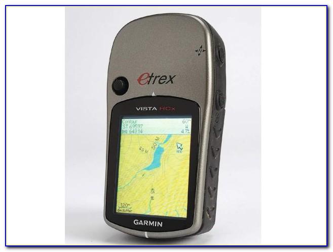Garmin Etrex Vista Hcx Maps