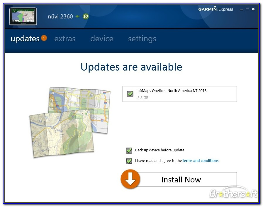 Garmin Express Map Download Location