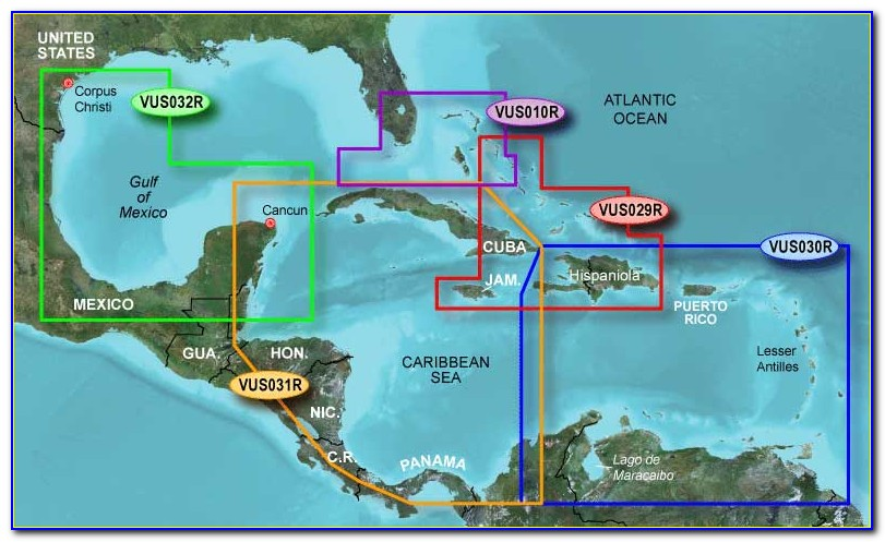 Garmin Gps Caribbean Maps