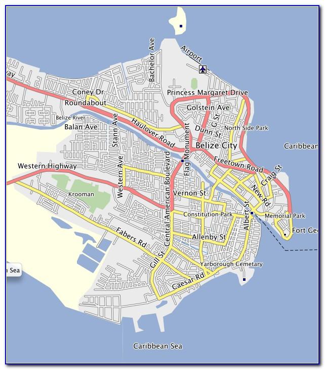 Garmin Gps Maps Belize