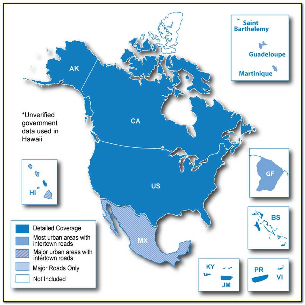 Garmin Gps North America Map Download