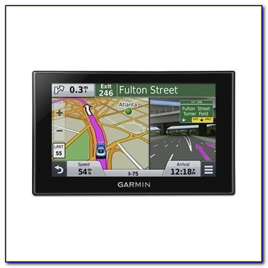 Garmin Gps With Bluetooth And Lifetime Updates