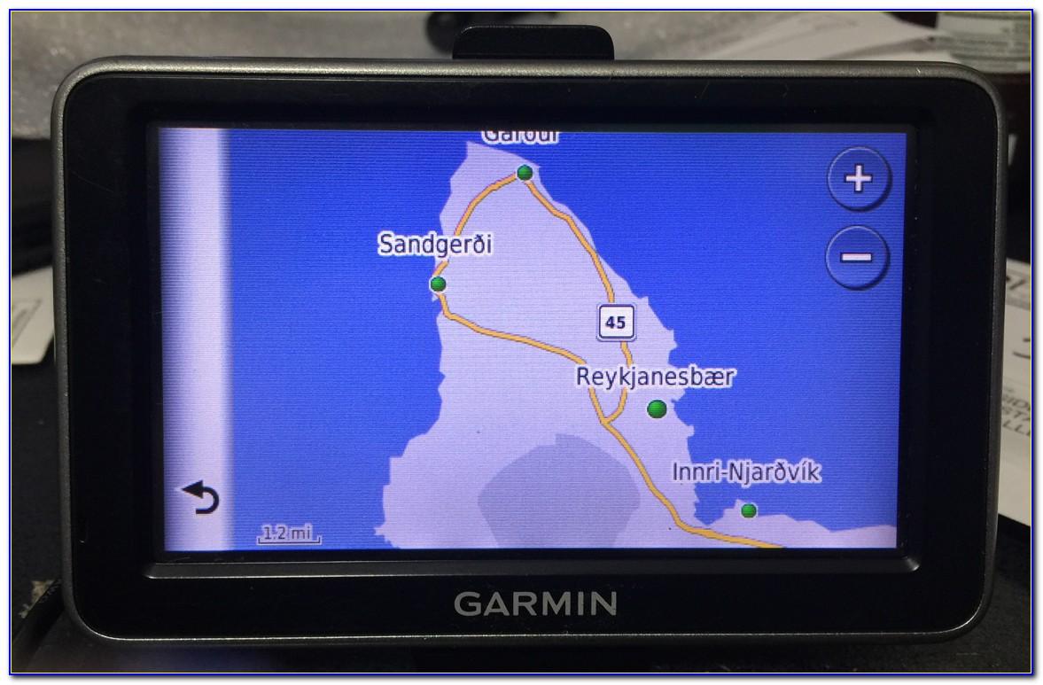 Garmin Iceland Road Map
