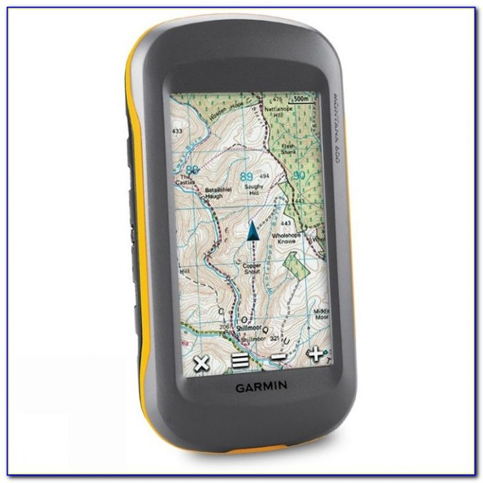Garmin Montana 680t Maps