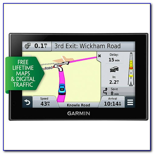 Garmin Nüvi 57lm 5'' Gps With Lifetime Maps And Mount