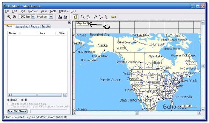 Garmin North America Map Coverage
