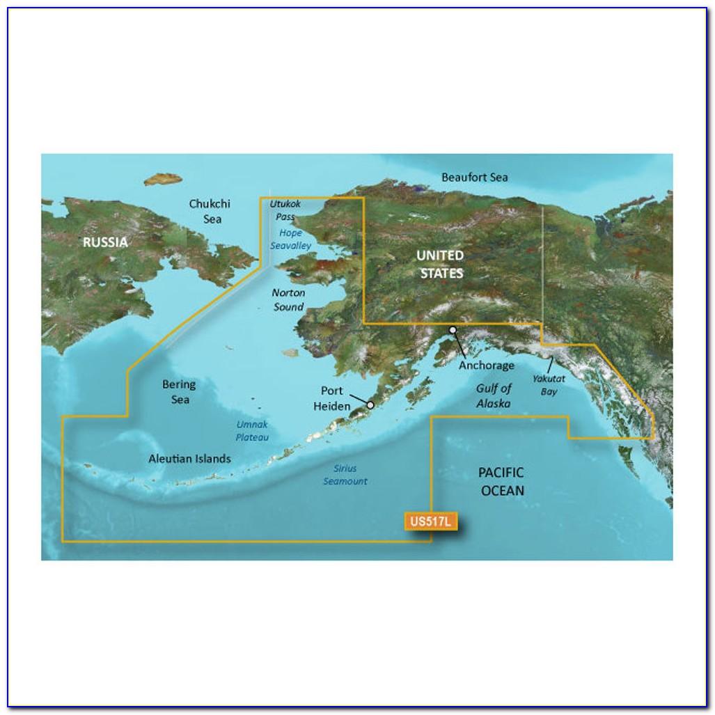 Garmin Nuvi 1300 Alaska Maps