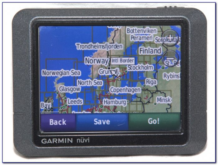 Garmin Nuvi 200 Maps