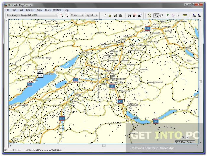 Garmin Nuvi 255w North America Maps