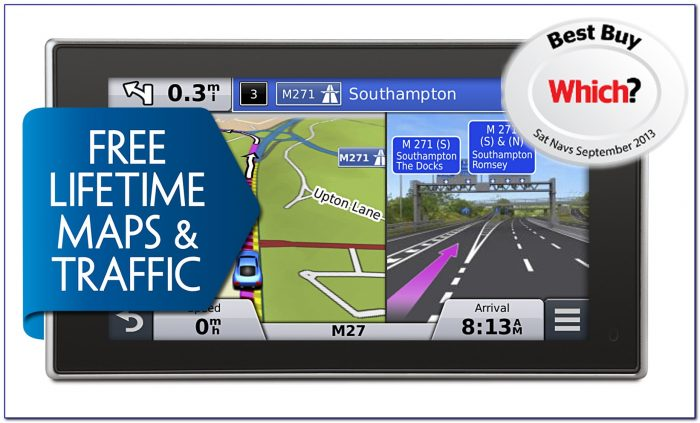 Garmin Nuvi 40 Free Lifetime Map Updates