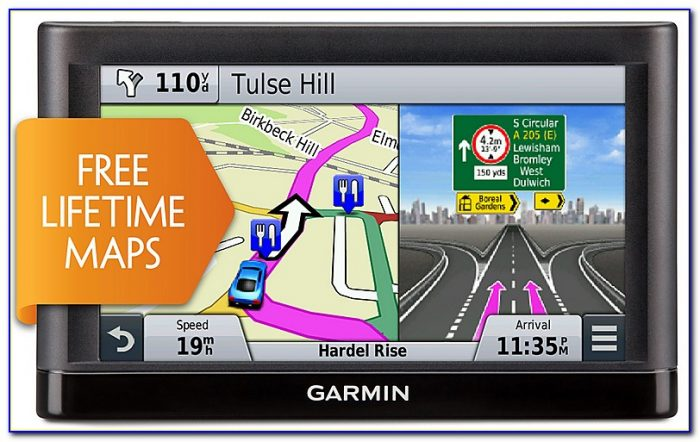 Garmin Nuvi 52lm With Lifetime Map Updates