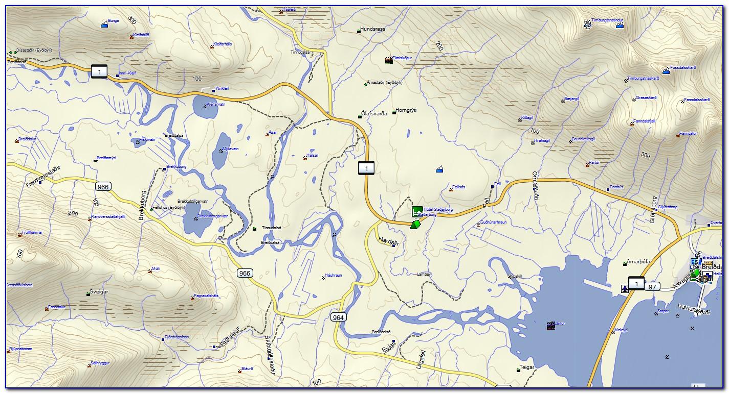 Garmin Oregon 450 Golf Maps