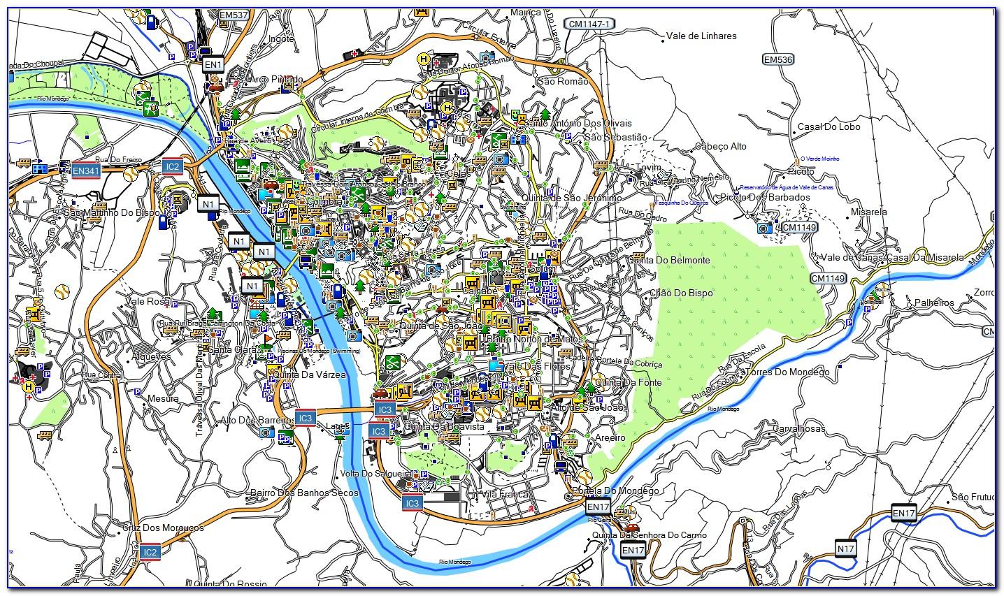 Garmin Oregon 450 Topo Maps