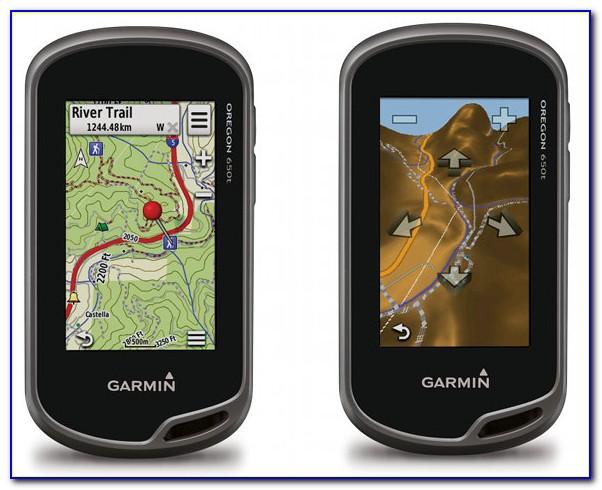 Garmin Oregon 600 Custom Maps