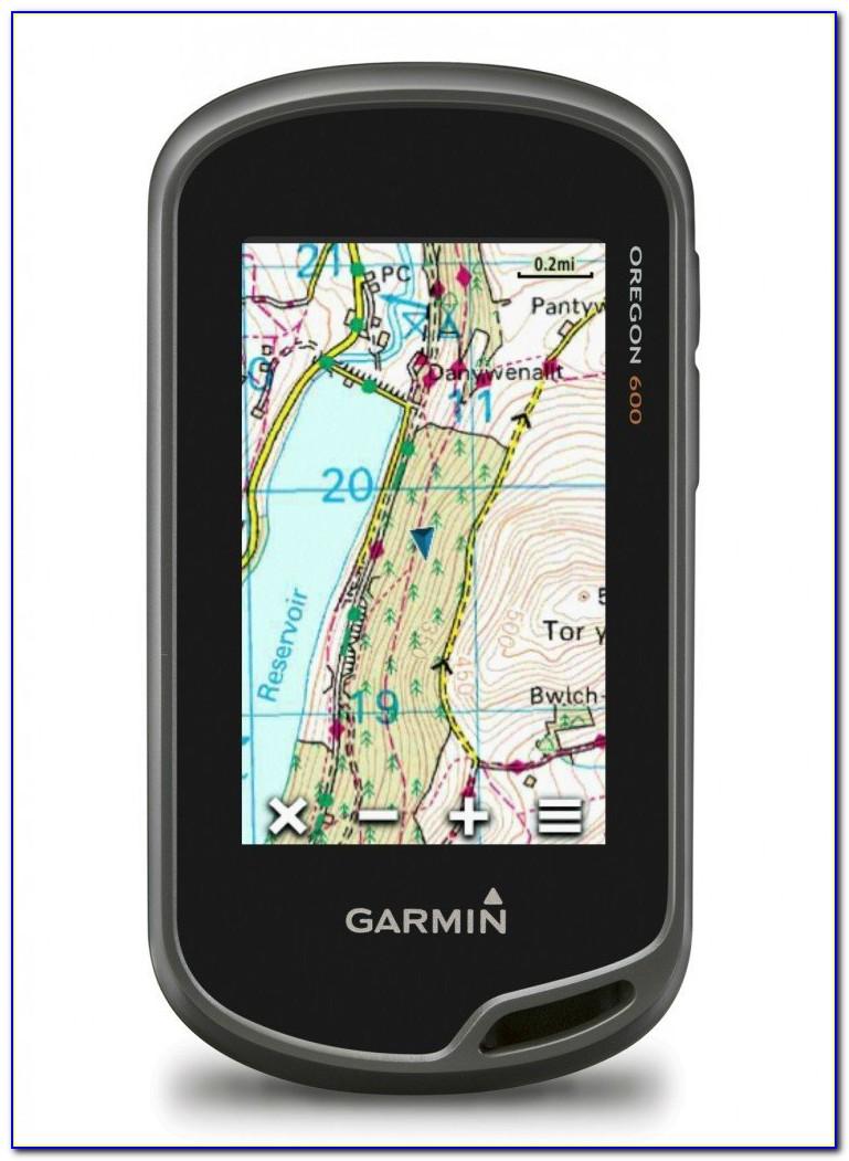 Garmin Oregon 600 With Os Maps