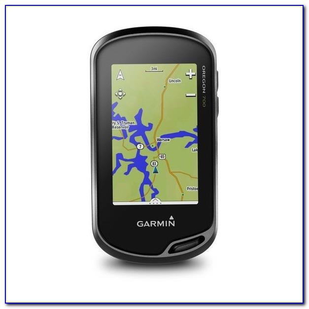 Garmin Oregon 700 Custom Maps