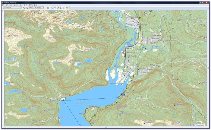 Garmin Topo Map Canada West
