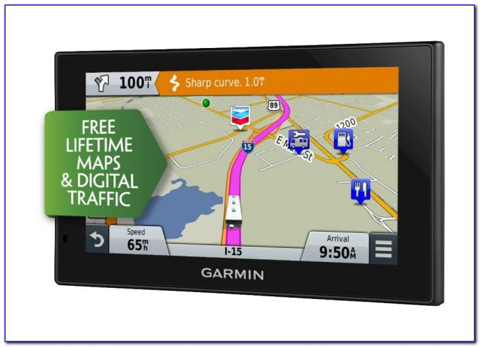 Garmin With Free Lifetime Maps And Traffic