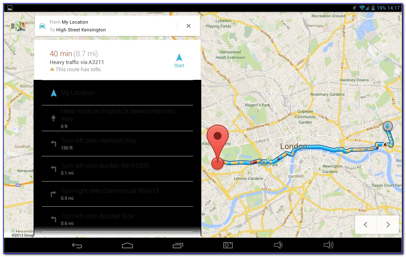 Get Maps And Driving Directions