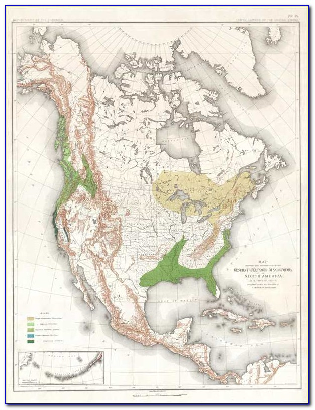 Giant Sequoia Monument Map
