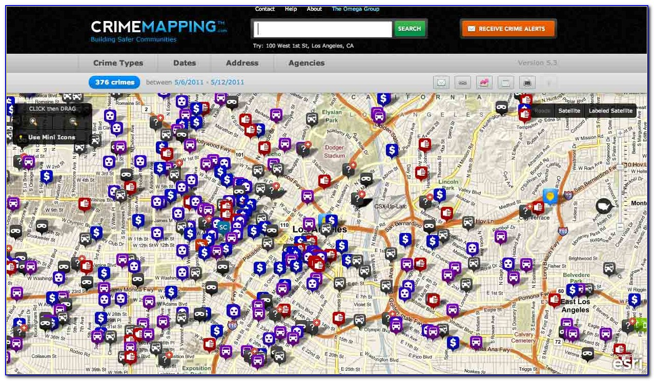 Gis Crime Mapping Software