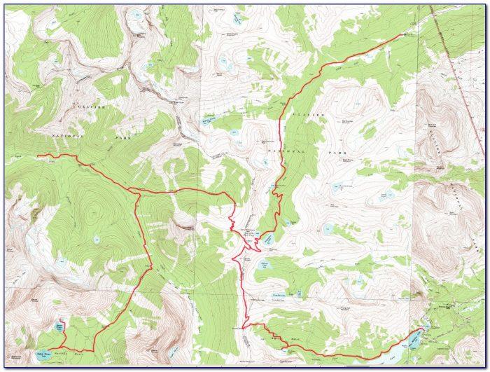 Glacier Bay National Park Topographic Map