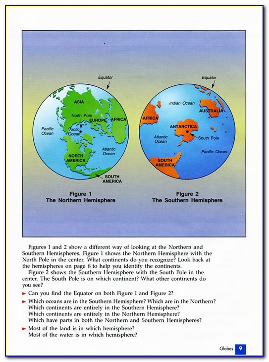 Globes Maps And Graphs Geography Basics