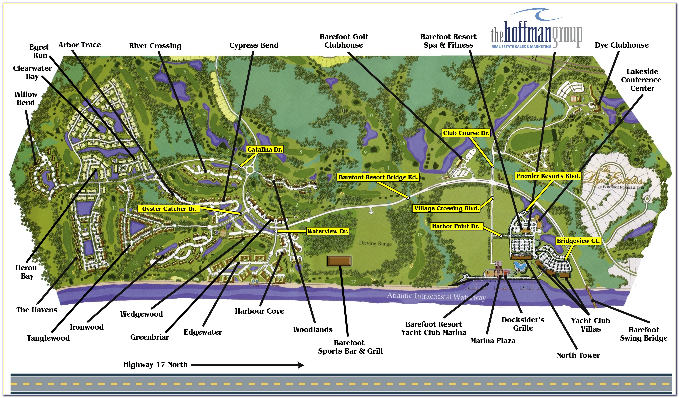 Golf Myrtle Beach Sc Map