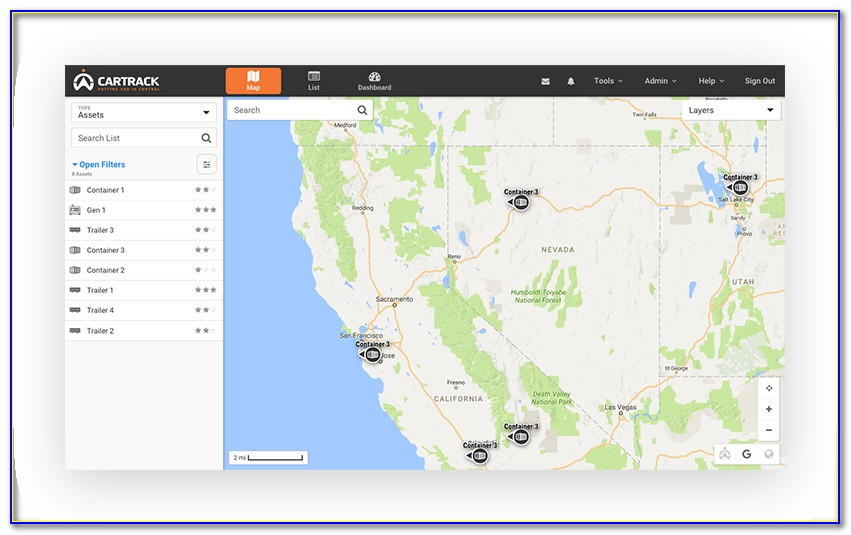 Google Map Api Asset Tracking