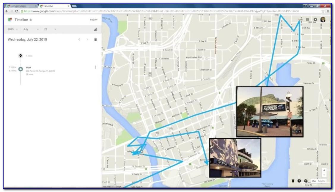 Google Map Asset Tracking