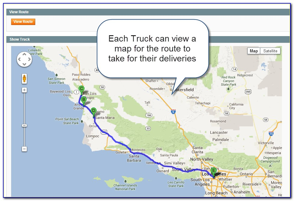 Google Map For Truck Drivers