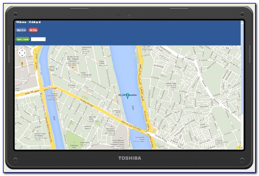 Google Map Gps Tracker Android