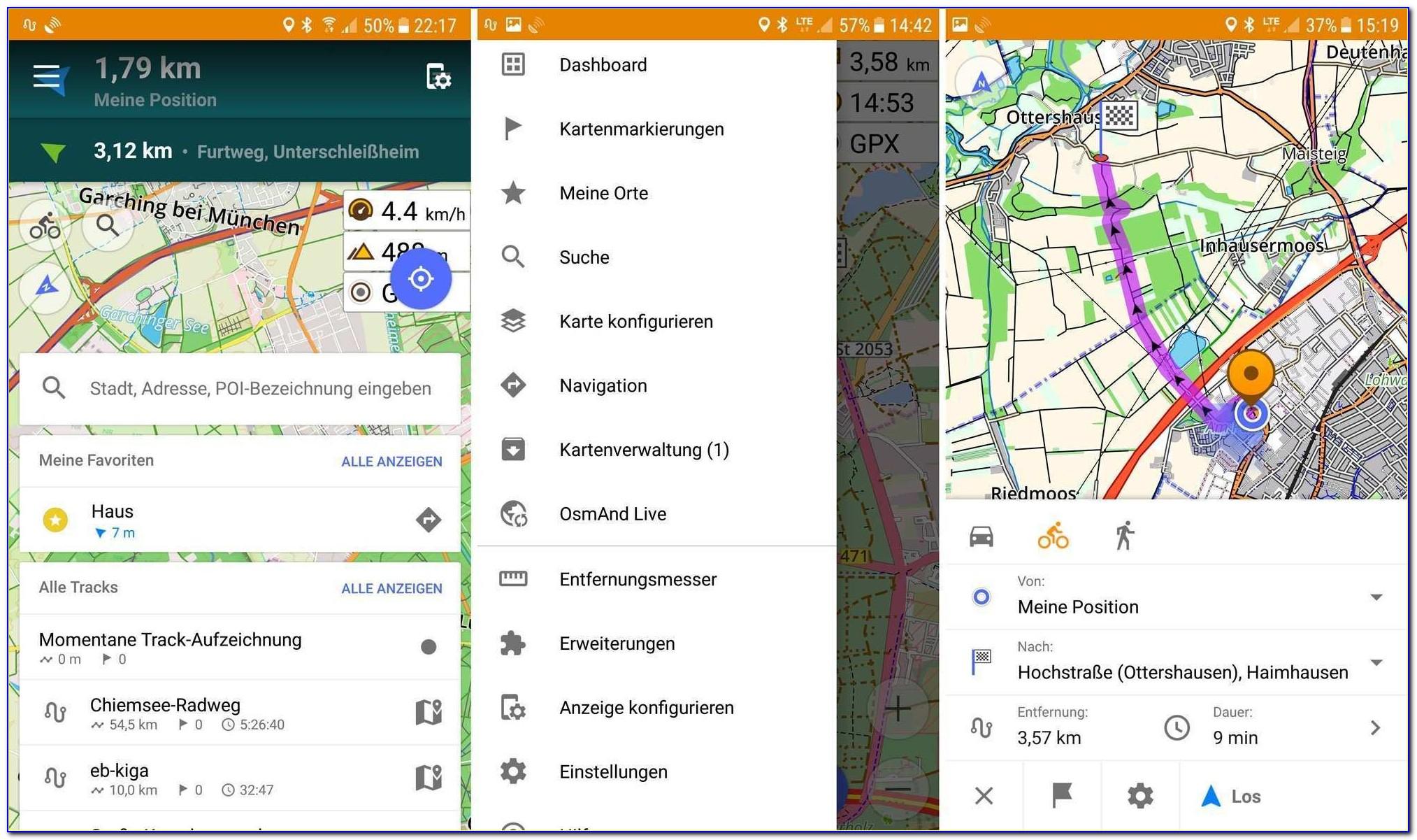 Android Gps Tracker Google Maps Elegant ▷ Osmand Im Test Kostenlose Android Offline Navigation Für Radfahrer