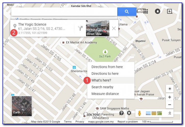 Google Map Satellite Trace Mobile Number