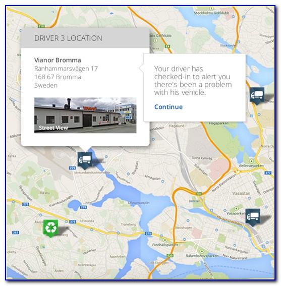 Google Maps Asset Tracking Api