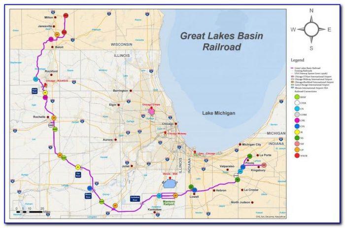 Google Maps Great Lakes Illinois