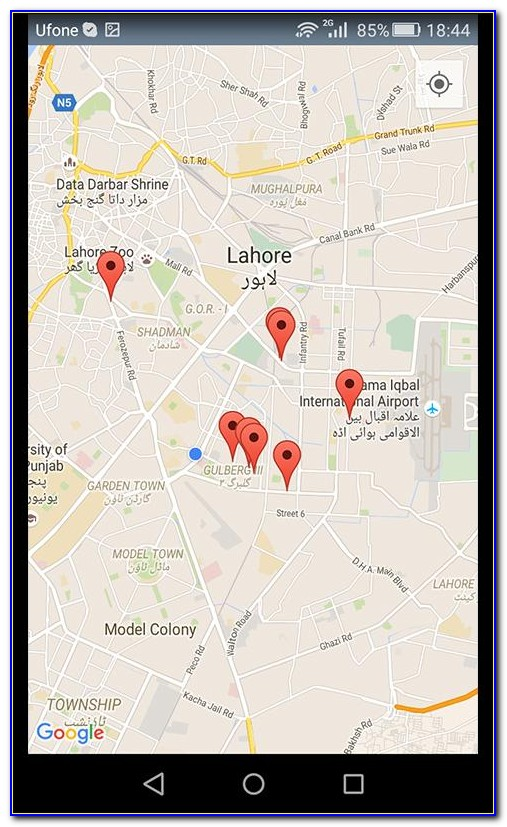 Google Maps Locate Cell Phone Number