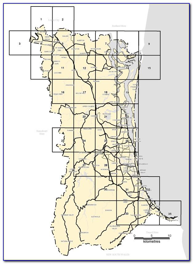 Google Maps Postcode Overlay Australia
