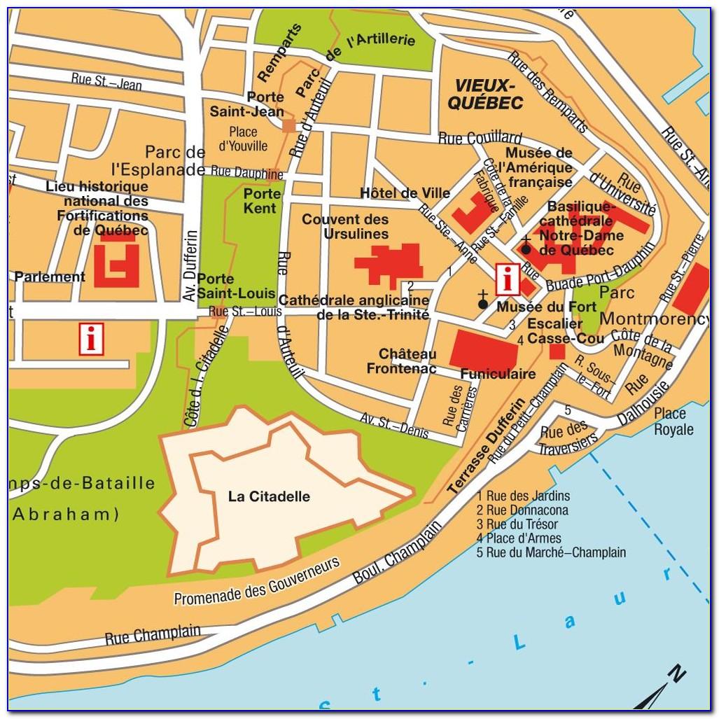 Google Maps Quebec City Hotels