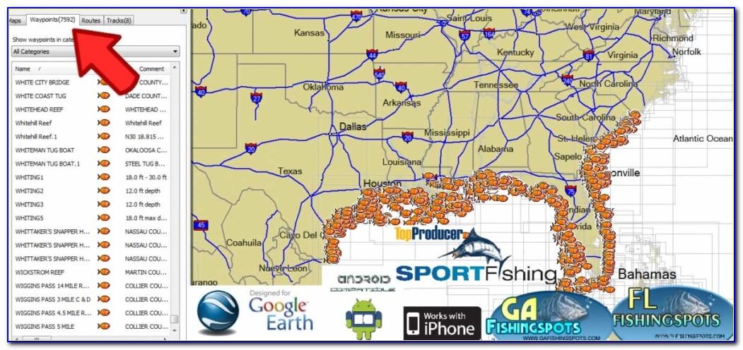 Gps Fishing Maps Download