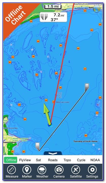 Gps Fishing Maps Pro